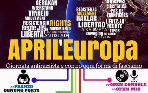 25 APRIL'EUROPA. PER UN'EUROPA ANTIFASCISTA, PER UN'EUROPA SENZA CONFINI